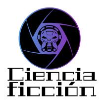 Logotipo de novelas de ciencia ficción. Ciencia ficción blanda