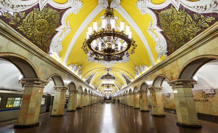 Palacio subterráneo de Metro 2033