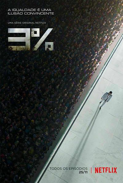 3% una serie de ciencia ficción en Netflix