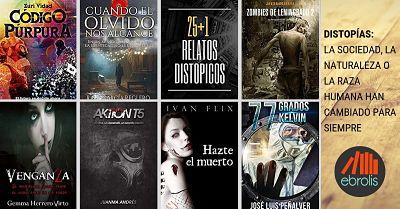 Pack de libros baratos de ciencia ficción. Pack de distopías
