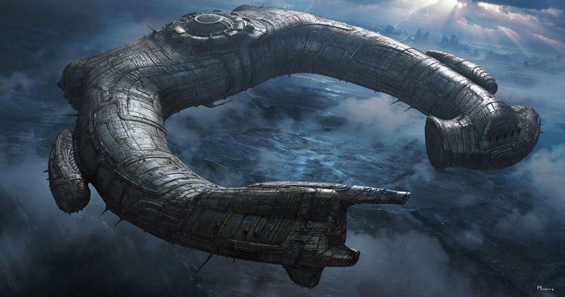 La icónica nave de los ingenieros